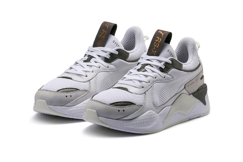 52dbb6d1a246 puma rs x trophies release date 2019 january footwear black gold white  silver grey gray bronze